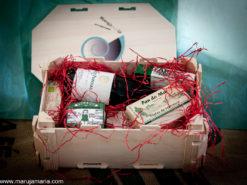 cesta picnic conservas gallegas